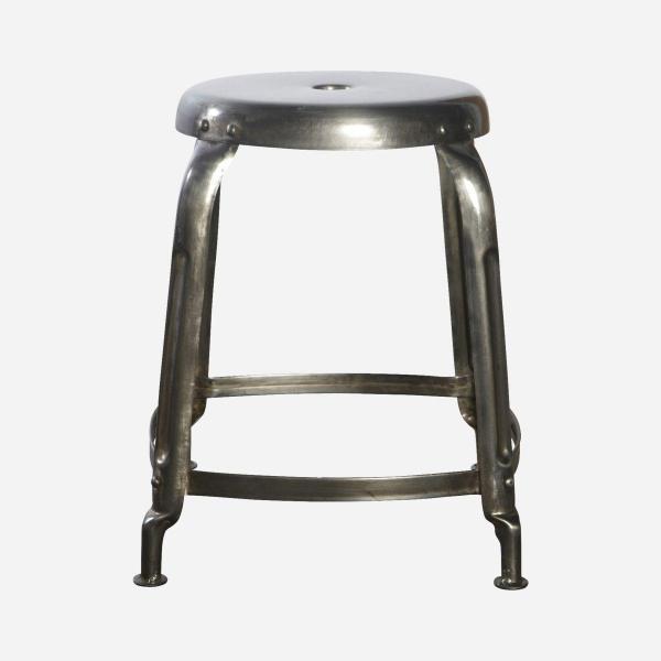Nábytek Kulatá stolička ocel