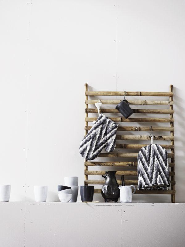Bytové doplňky BAMBOO dekorativní žebřík S