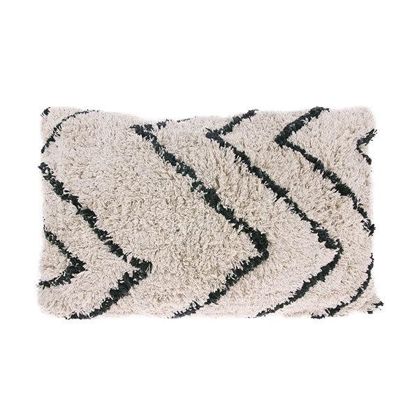 Bytový textil Polštářek zigzag long