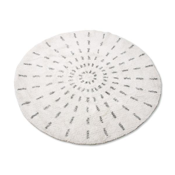Bytový textil Bavlněný koberec ROUND L simple