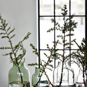 Bytové doplňky Váza clear grey