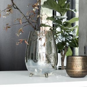 Bytové doplňky Váza glass green
