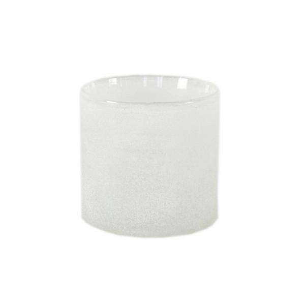 Bytové doplňky Svícen/váza WHITE S