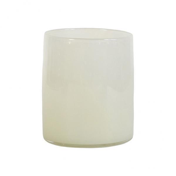 Bytové doplňky Svícen/váza GLASS linen M