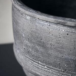 Bytové doplňky Cementová mísa BLACK XL