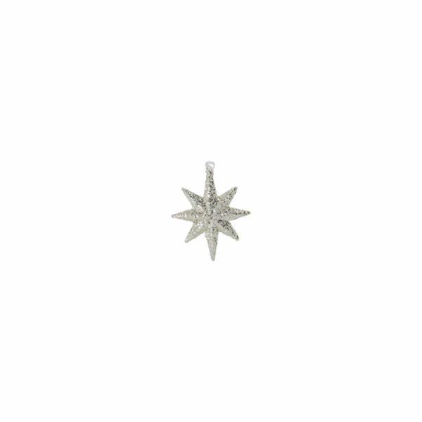 Bytové doplňky Třpytivá hvězda SILVER